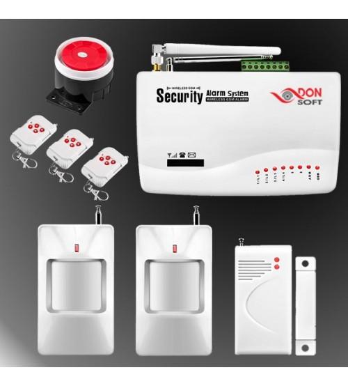 Безжична GSM аларма DS-076GSM с управление през смартфон