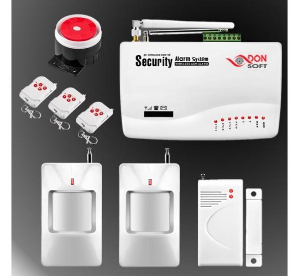 Безжична GSM аларма DS-076GSM за управление през мобилен телефон