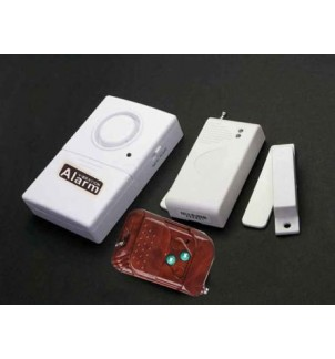Безжична аларма с магнитен датчик и ДУ DS-3308B