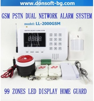 GSM аларма с клавиатура LL-2000GSM