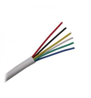 Многожичен кабел 6x0.22mm за аларми