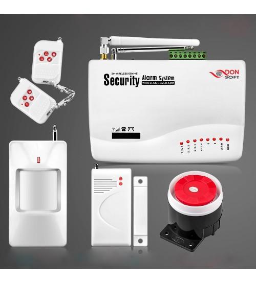 Безжична GSM алармена система за дома DS-058GSM