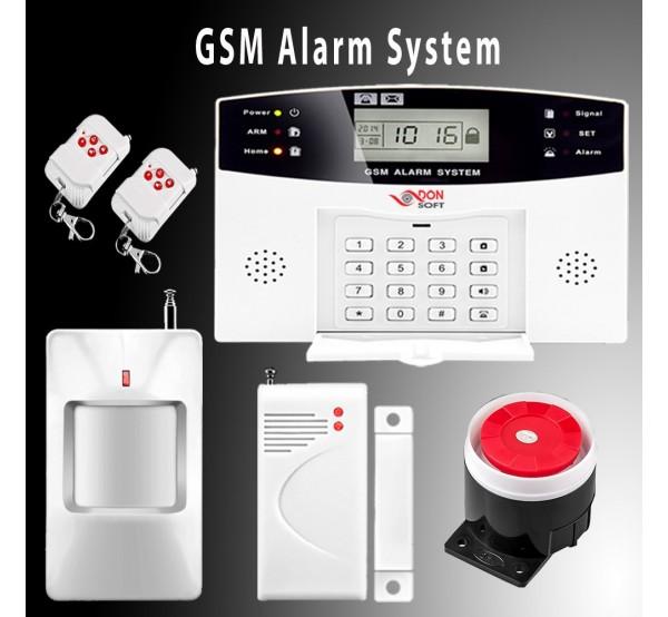 GSM алармена система с дисплей DS-500GSM