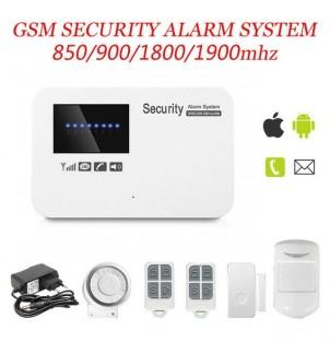 Безжична охранителна система G77A с APP контрол