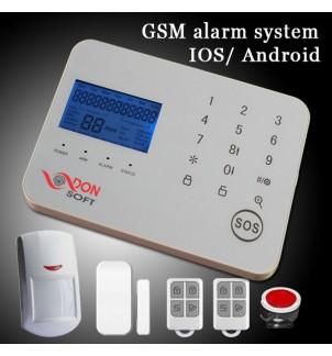 GSM аларма DS-G16A с безплатно APP приложение за мобилен телефон