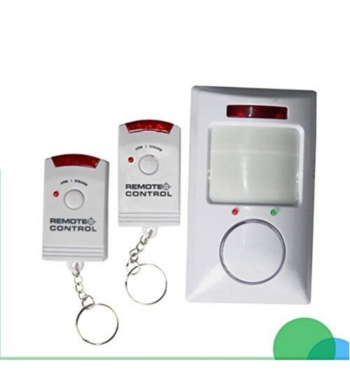 Безжична PIR- аларма s 2бр. дистанционно управление DS-106BR