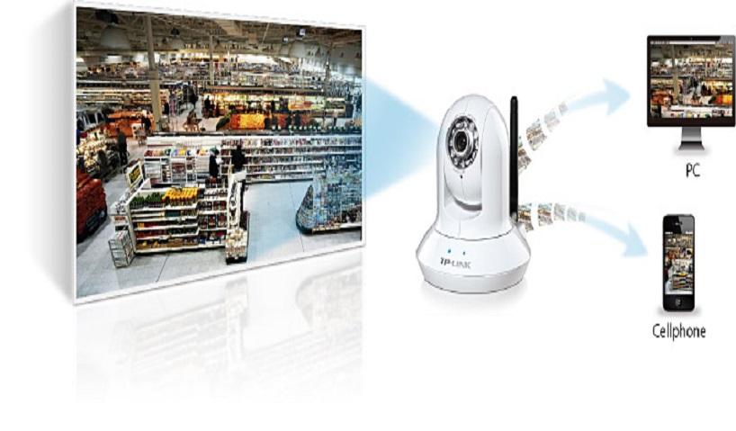 Wireless Pan/Tilt камера
