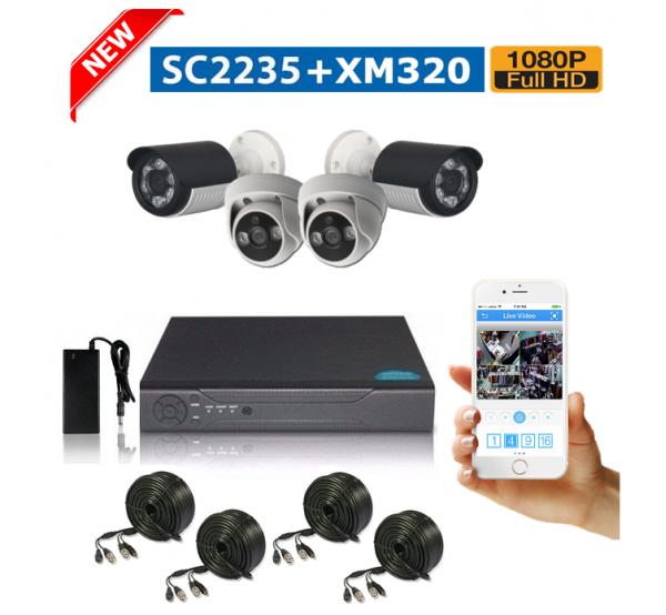 ecd7ec033f0 FULL HD система с 4 камери| Комплект камери с DVR | ДонСофт.БГ