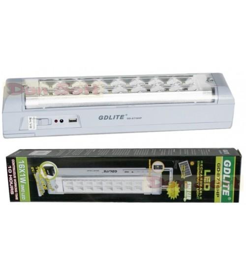 Аварийна LED лампа GDLITE GD-8716HP