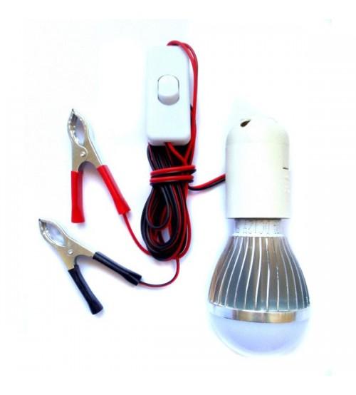 Аварийна LED лампа с ключ 12V/5W