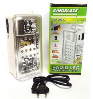 LED лампа с радио GD-1111