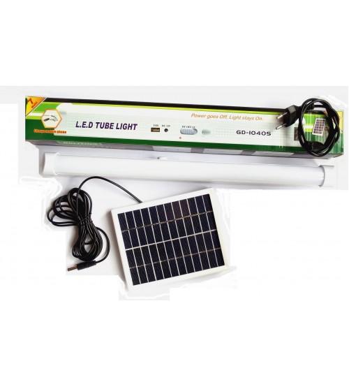 LED лампа GD-1040S със соларен панел