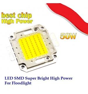 LED диод 50W студено бял