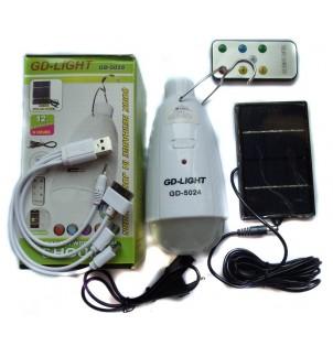 Соларна LED лампа GD-5024