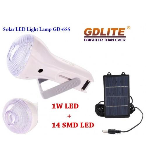 Соларна LED лампа GD-655
