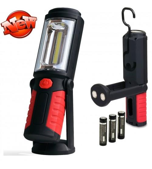 Аварийна LED лампа 1+1COB