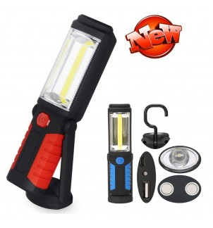 Аварийна LED лампа 1+1COB USB