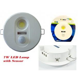 LED лампа с датчик за движение 7W
