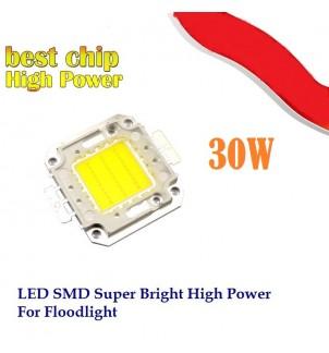 LED диод 30W студено бял