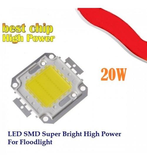 LED /диод/ 20W със студено бяла светлина
