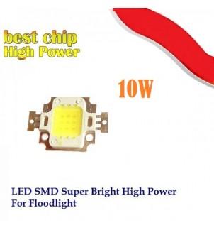 LED /диод/ 10W студено бял