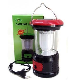 Соларна LED лампа за къмпинг KT-609