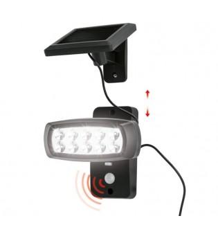LivarnoLux Соларен прожектор с 10LED 6500K