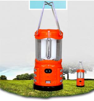 Соларна къмпинг LED лампа YJ-180-4