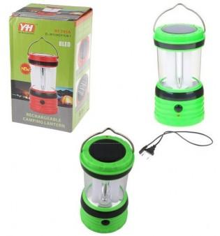 Къмпинг LED лампа със солар RY-T95A