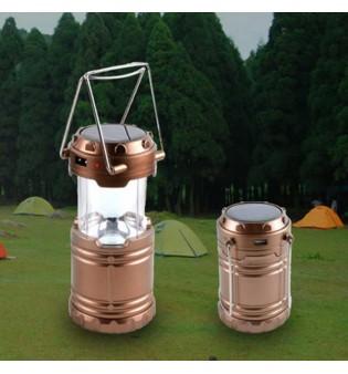 Соларна къмпинг LED лампа G-85