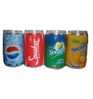 Аудио система в кенче Cola/Pepsi/Fanta/Sprite