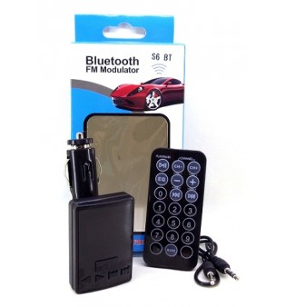 FM трансмитер с Bluetooth DS-S6BT