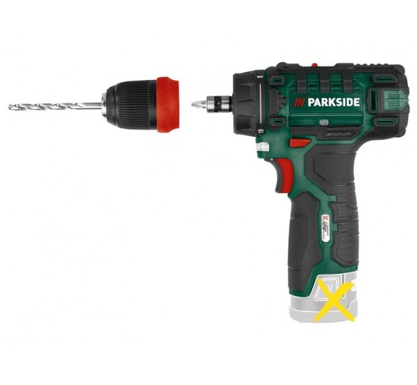 Parkside PBSA 12 D4 Акумулаторна бормашина / винтоверт