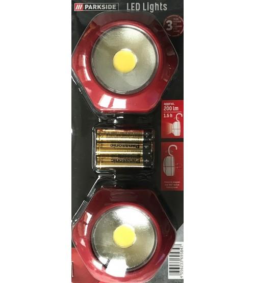 Parkside PACL 3 A1 LED светлини за къмпинг и туризъм