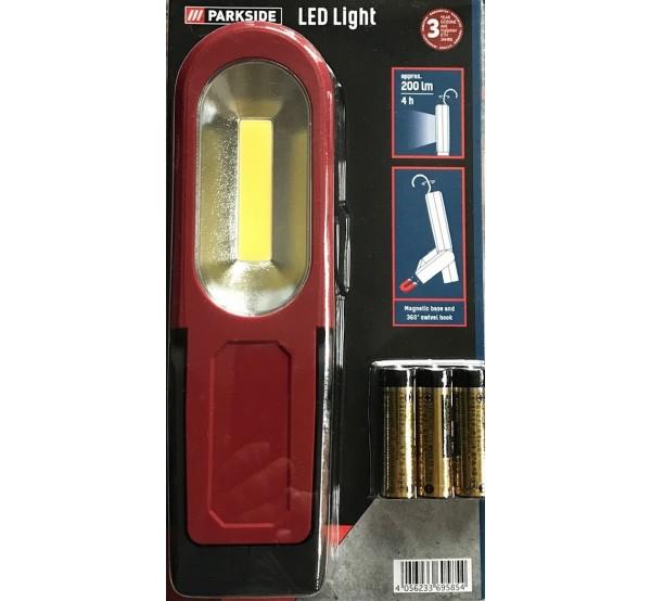 Parkside PACL 3 A1 LED ремонтна лампа с COB диод