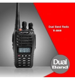 Двубандова VHF/UHF радиостанция Y-A68 5W