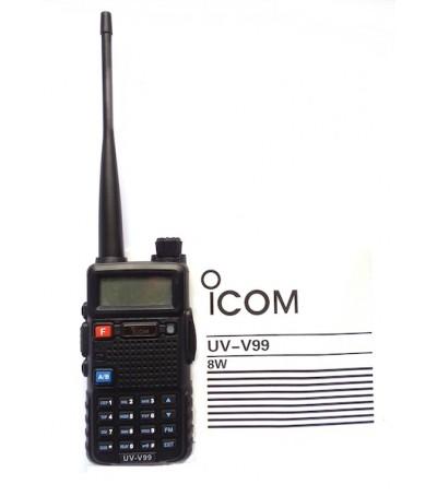 Професионална радиостанция UV-V99 8W