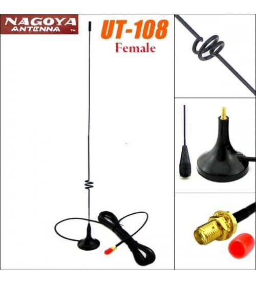 Външна антена UT-108UV female 47см за радиостанция