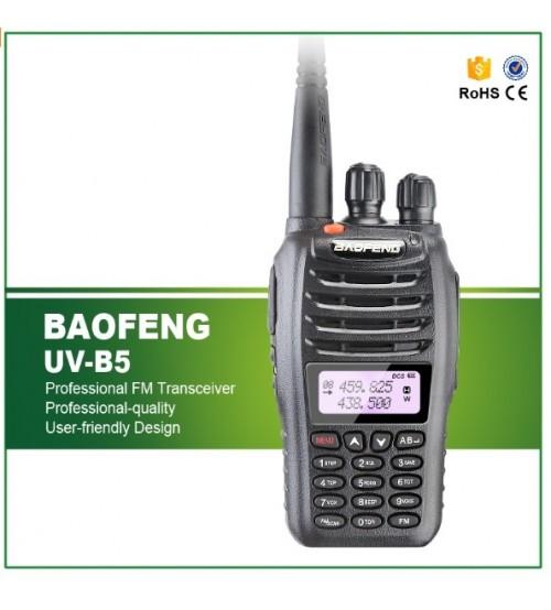 Професионална радиостанция UV-B5 5W за туризъм