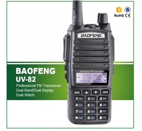 Мощна преносима радиостанция UV-82 Plus 10W