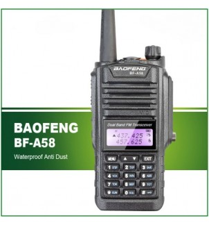 Baofeng BF-A58 Влагозащитена радиостанция 5W