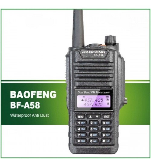 Влагозащитена радиостанция BF-A58 5W