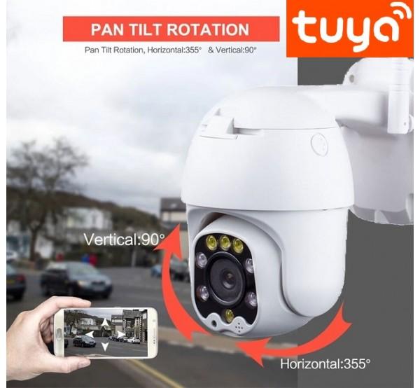 TY-2000PTZ-S Безжична TUYA камера с управление през интернет