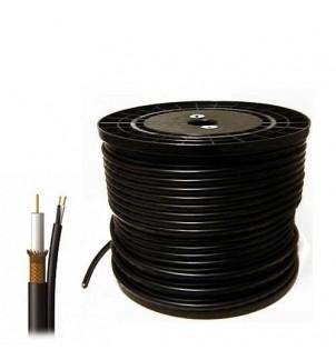 Коаксиален кабел RG59+2x0,75mm меден