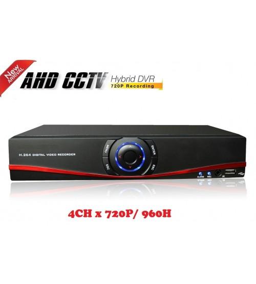 4 канален видео рекордер DVR HS-3804BJ AHD
