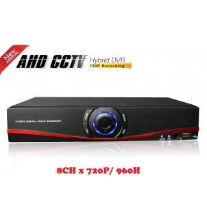 8 канален видео рекордер DVR HS-3308BJ AHD