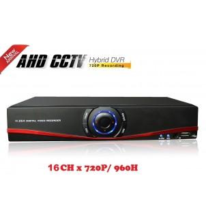 16 канален видео рекордер DVR HS-TVI-4316BJ-6 AHD