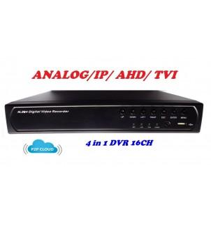 16 канален видео рекордер DVR 4 в 1 DS-6616L