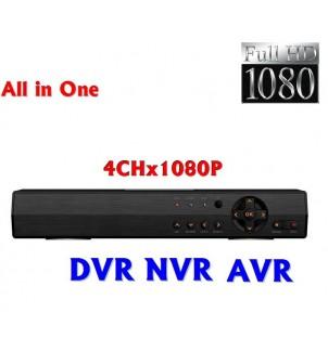 4 канален видео рекордер  AVR WD-104H AHD