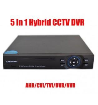 4 канален видео рекордер DVR 5 в 1 TRX-3004AHDN